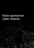 State sponsored cyber attacks - summary in english