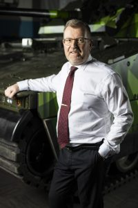 Tommy Gustafsson Rask, vd BAE Systems Hägglunds